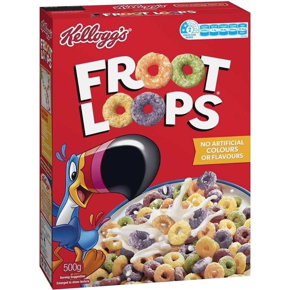 Kellogg's has just announced that it will change the name of its 'Froot Loops' breakfast cereal so as not to offend The Australian Greens & their supporters.