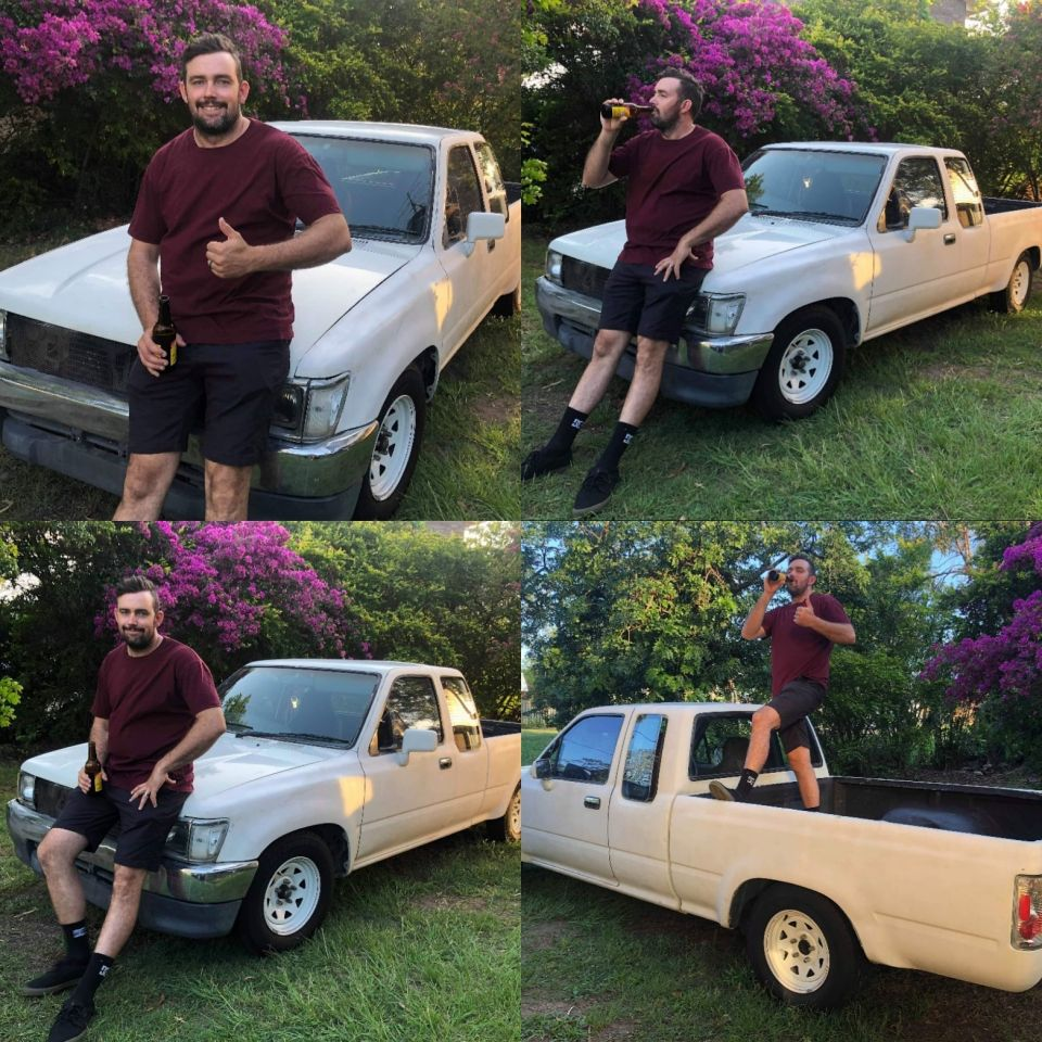 I sold my old ute today. Ten good years of snaping necks and cashing checks.